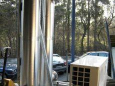 Gaskühler für Biogasanlage