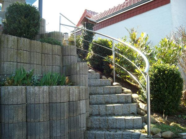 Treppengeländer für den Außenbereich